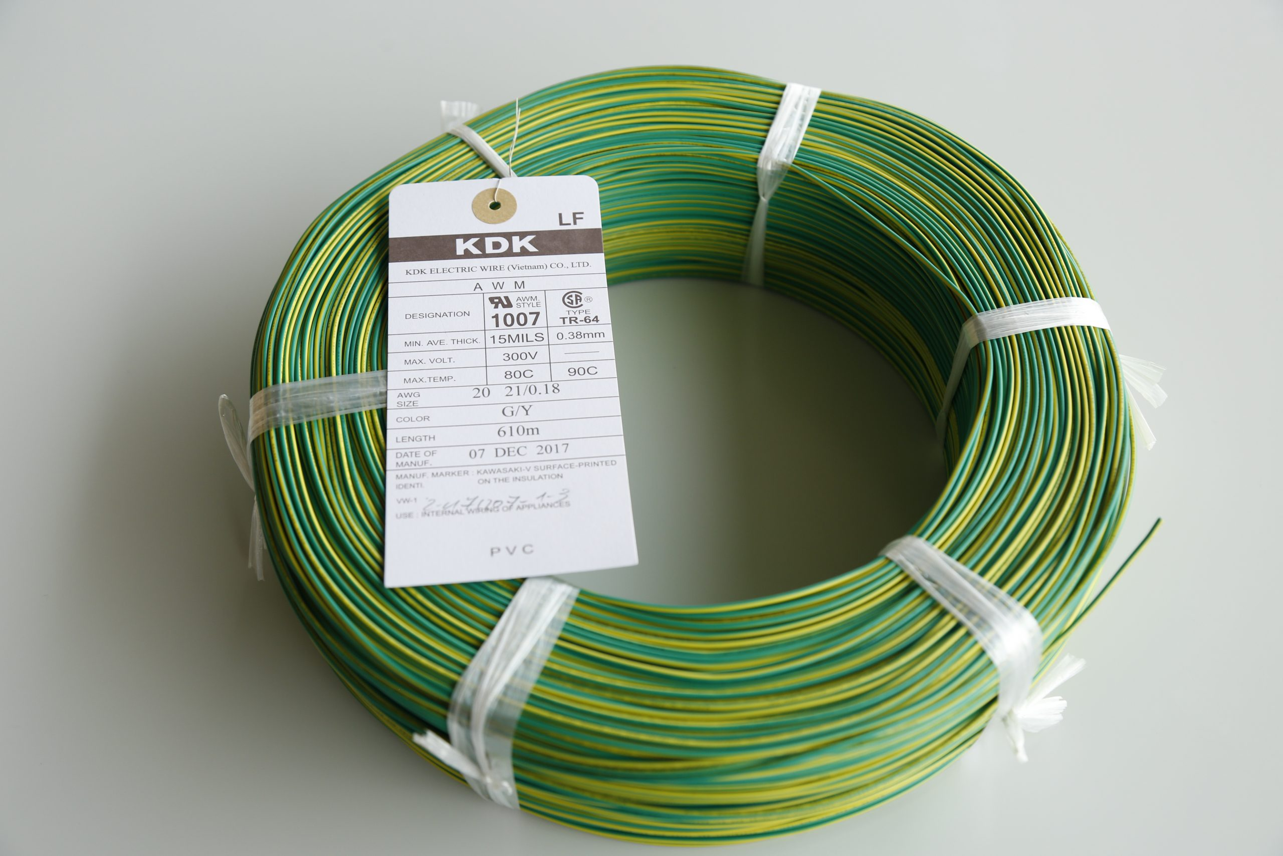America Usa Canadaul Style 1007 Csa Tr 64 Awg20 Kdk Group Electrical Wiring Colors Canada